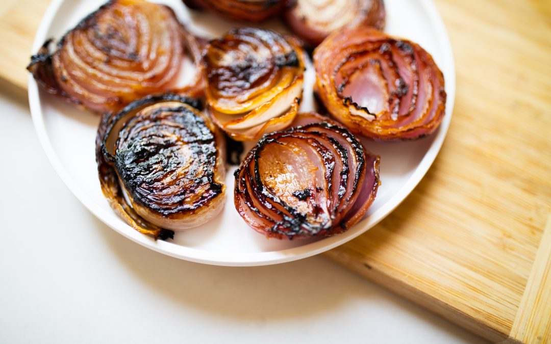 Caramelized Red Onions