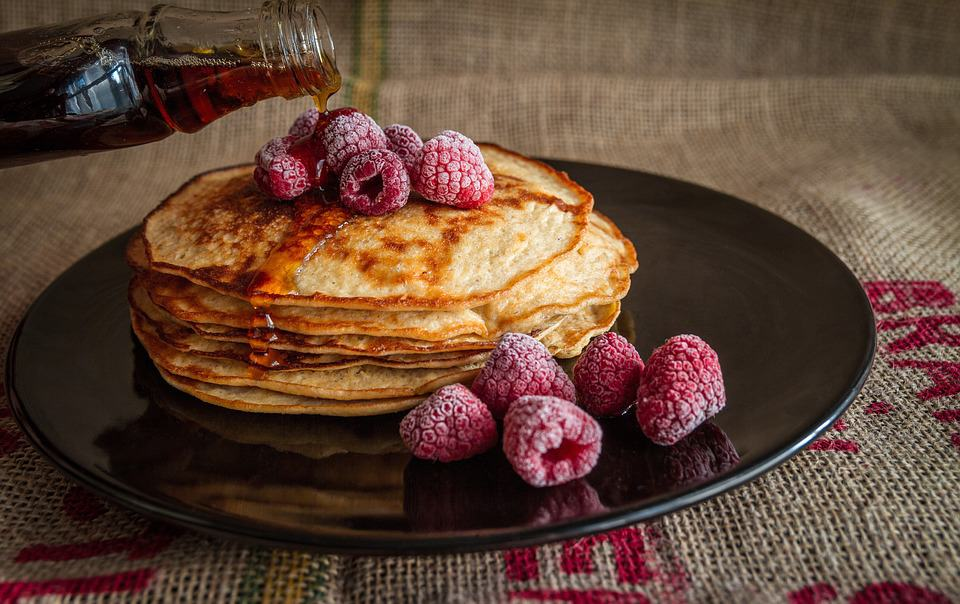 Four Ingredient Flourless Pancakes