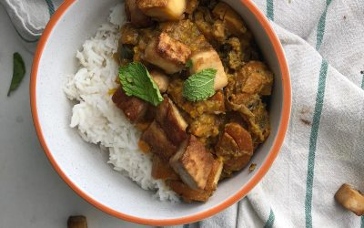 Sweet Potato Thai Curry